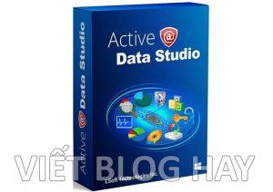 Phần mềm đọc Ebook Active@Data Studio 17 Portable