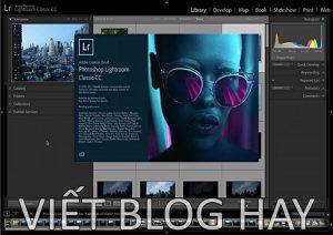 Dowload phần mềm Adobe Lightroom Classic CC 2020