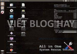 Phần mềm Ebook All in One – System Rescue Toolkit