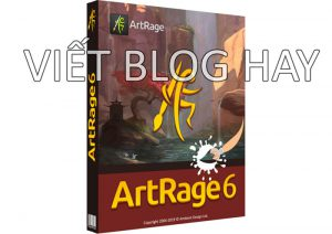 Phần mềm vẽ tranh ArtRage 6.1.2 Portable