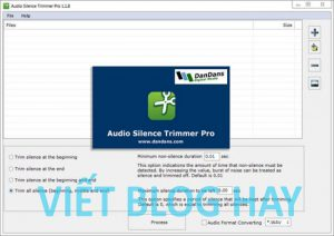 Audio Silence Trimmer Pro 1.1.9 Portable