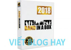 Band in a Box and RealBand 2018 Portable