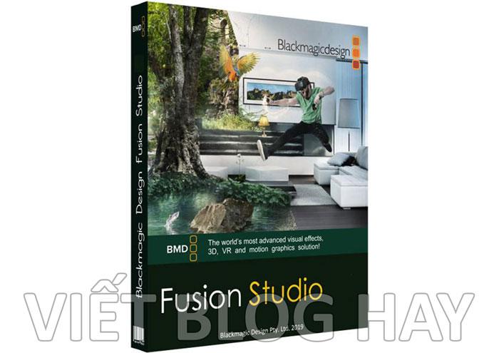 phần mềm Blackmagic Design Fusion Studio 17.1.43 Portable