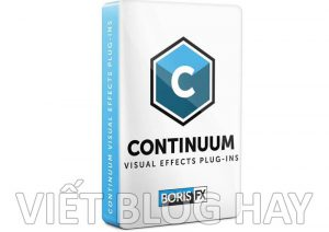 phần mềm chỉnh sửa video Boris Continuum Complete 2020
