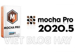 phần mềm chỉnh sưa video Boris Mocha Pro 7.5 Portable
