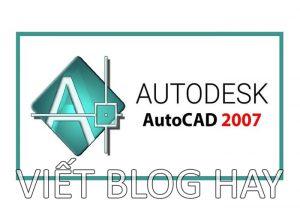Dowload phần mềm Autocad 2007