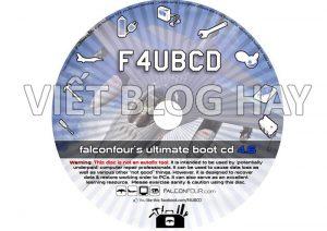 Phần mềm Ebook FalconFour's Ultimate Boot CD/USB 4.61
