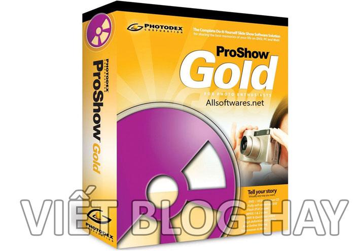 Phần mềm chỉnh sửa video Proshow Gold 9